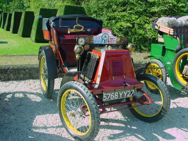 1900 RENAULT tonneau a