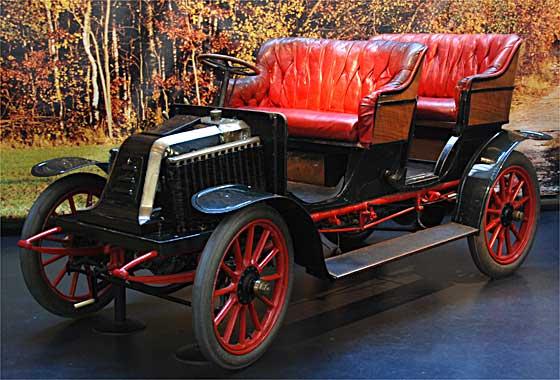 1903 Renault type NC Double Phaeton