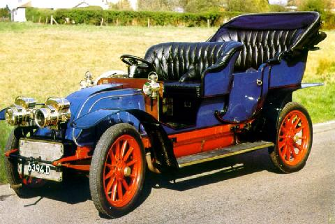 1904 Renault CGV 25hp Roi des Belges