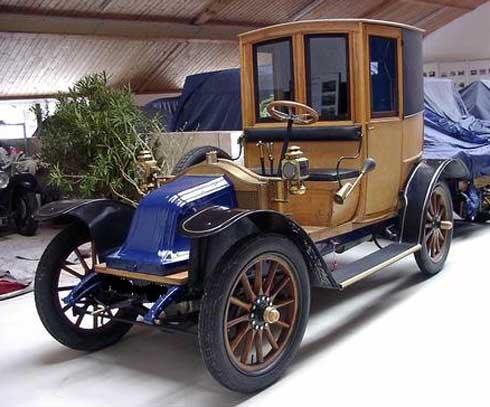 1905-1910 Renault Taxi de la Marne Type AG