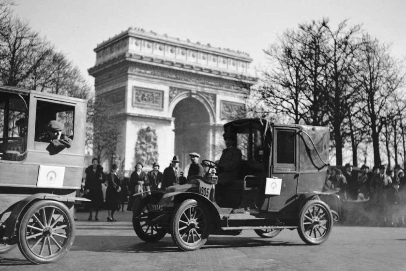 1905 renault type AG  taxi a