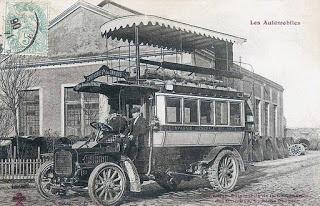 1906 Peugeot bus