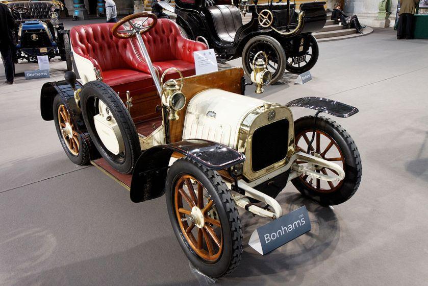 1907 Lion Peugeot type VA voiturette 8 CV