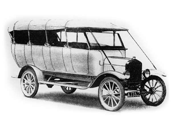1907 Plaxton model T Charabanc