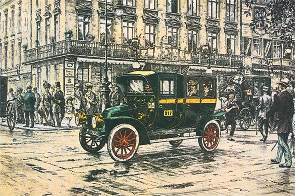 1907 Renault-Taxi