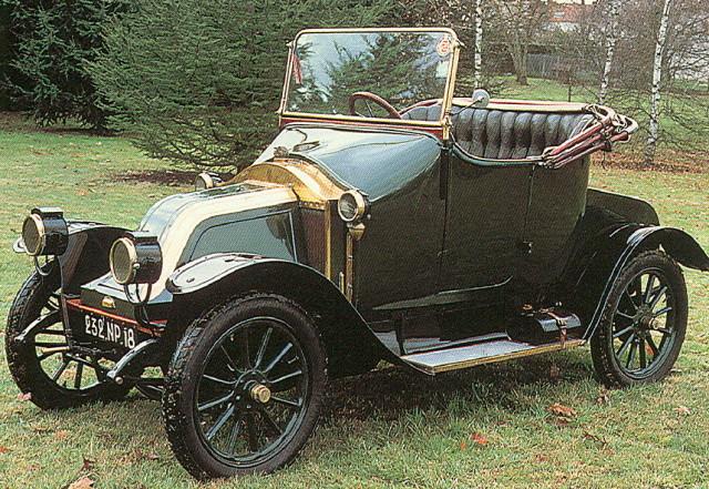 1908-14 RENAULT AX FRANCA