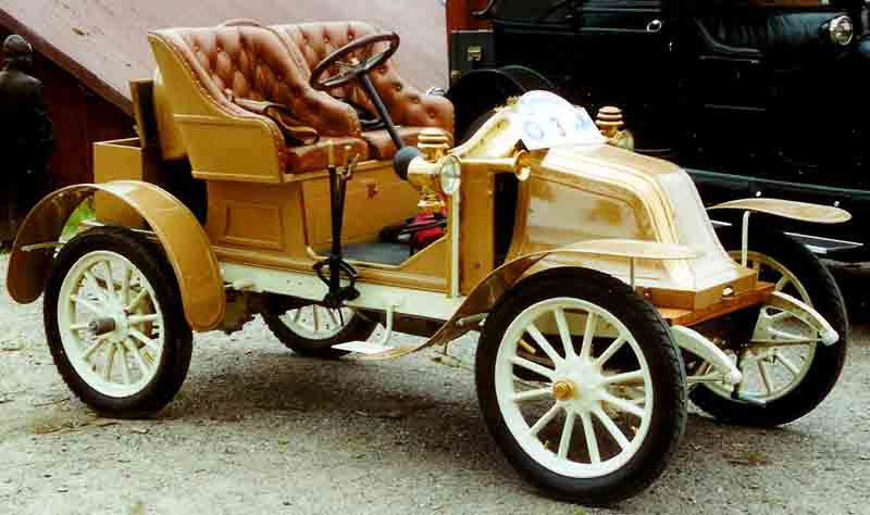 1909 Renault AX 3-Seater