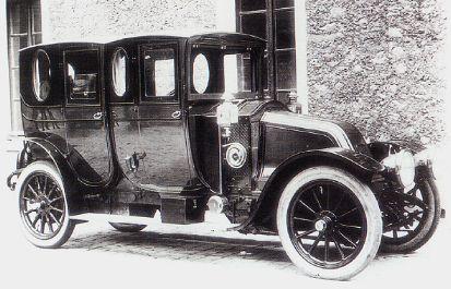 1910 de Louis RENAULT, une 25 CV type BM