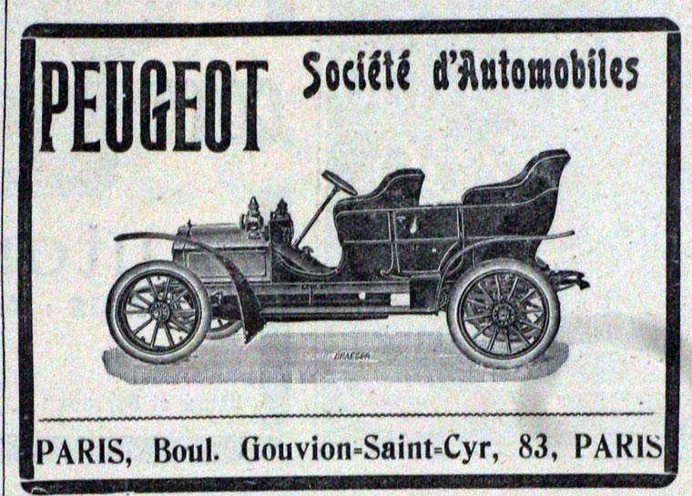 1911 Peugeot a