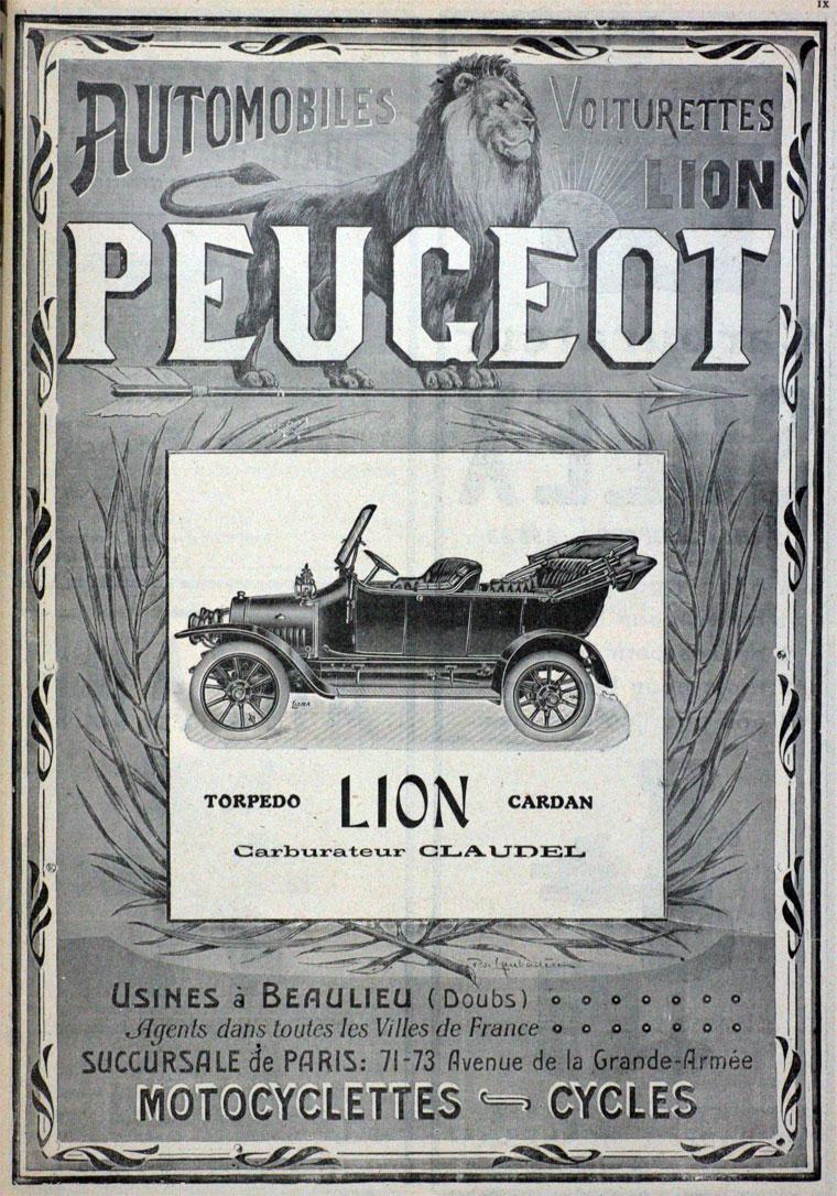... 1911 Peugeot ...