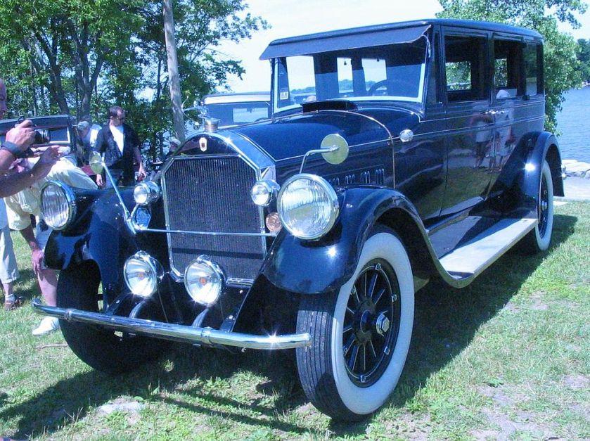 1911 Pierce-Arrow (Auto classique Laval '11)