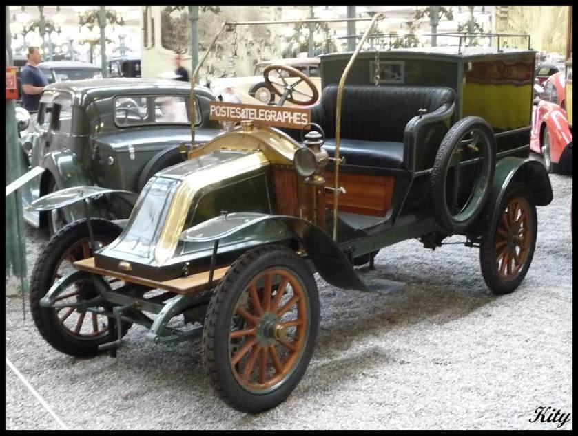 1911 Renault - Fourgon Type AX