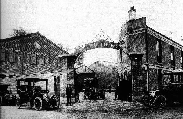 1913 Renault Freres BW