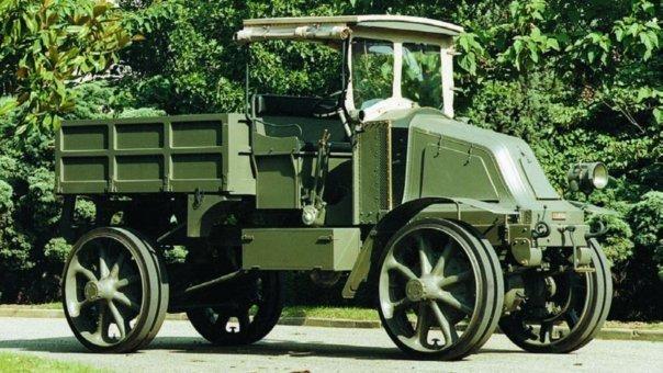 1914 Renault EG, 4x4