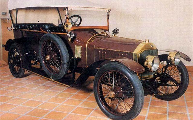 1916 Renault Unic Torpedo 12 Cv