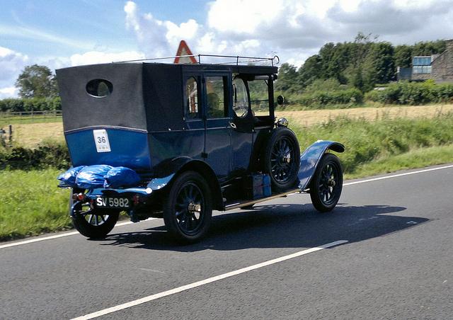 1917 Renault Type EU Open Drive