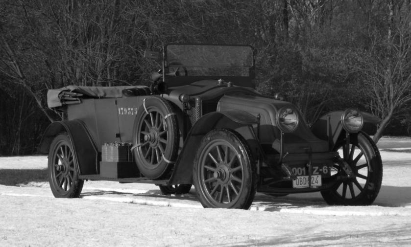 1917 Renault type FE torpedo