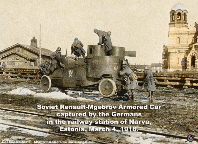 1918 Renault-Mgebrov-Armored-Car-Narva