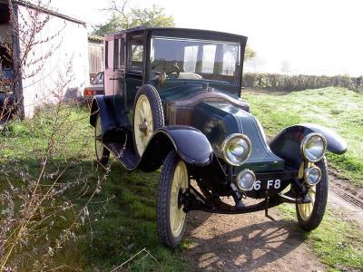 1919 Renault dávant guerre