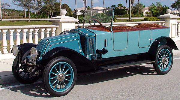 1919 Renault GR Tourer