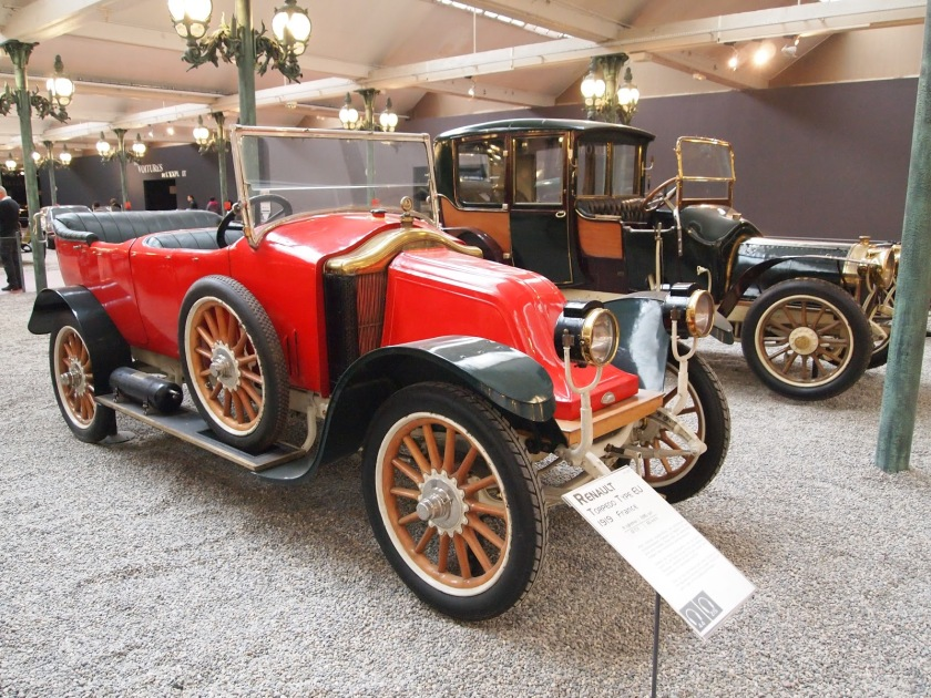 1919 Renault Type EU 'torpedo