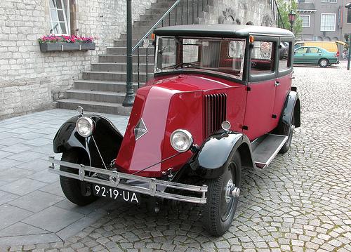 1920 Renault Monoquatre