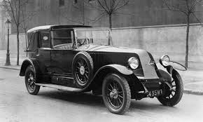 1920 Renault Musle Power Car
