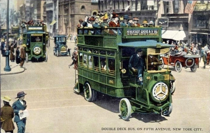 1920 Renault-Scemia buses in New York