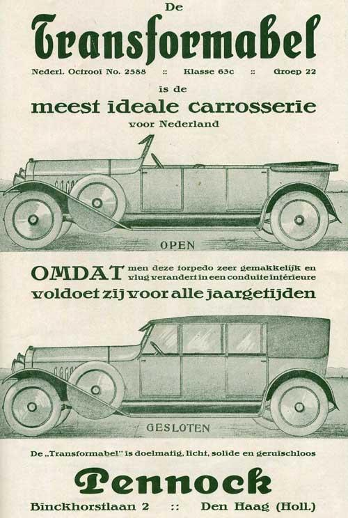 1921 Pennock-transformabel-1921