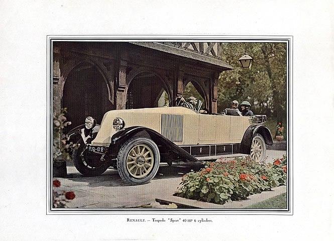 1922 renault-torpedo-sport