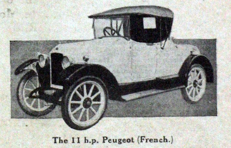 1923 Peugeot a