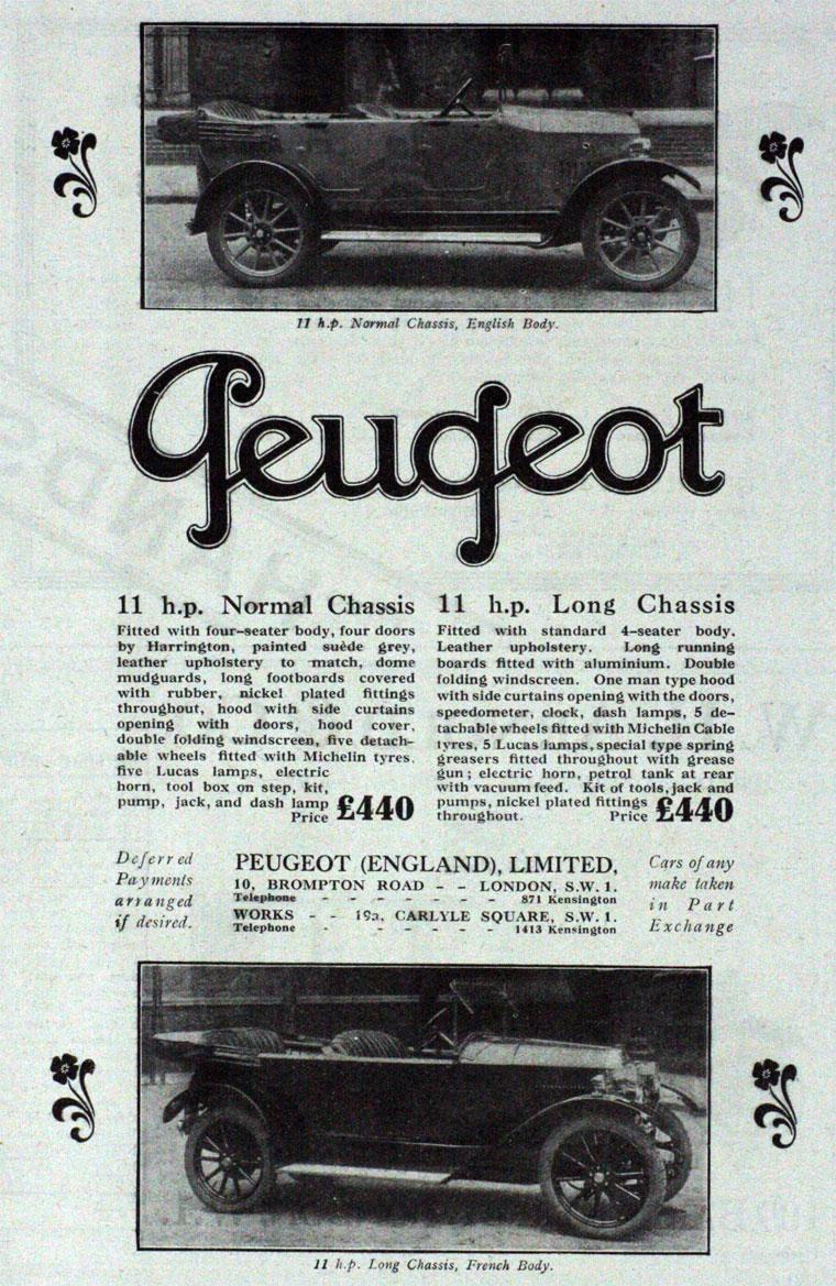 1923 Peugeot