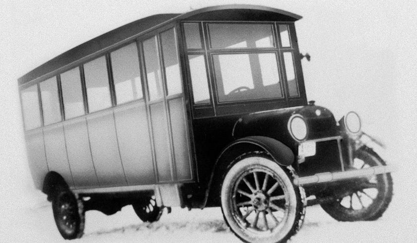 1924-1ST Prevost Bus