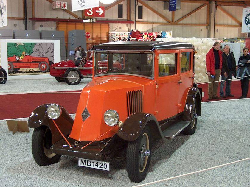 1924-30 Renault Type NN Town Car 1926