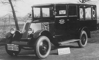 1924 Renault mit Schreiner GmbH Aufbau