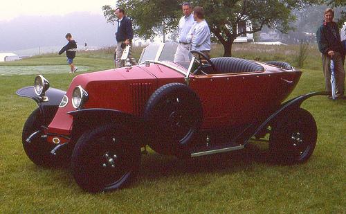 1924 Renault MT torpedo skiff