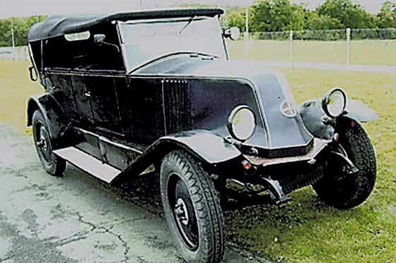 1924 Renault torpedo KZ 1924