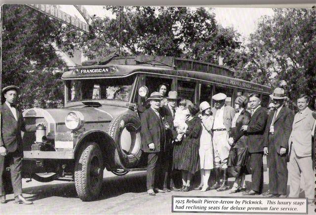 1925 Pierce Arrow rebuilt by Pick Wick