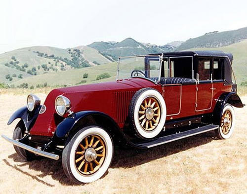 1925 Renault Model 45 Kellner Phaeton