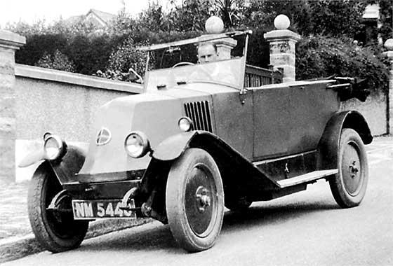 1925 Renault Torpedo