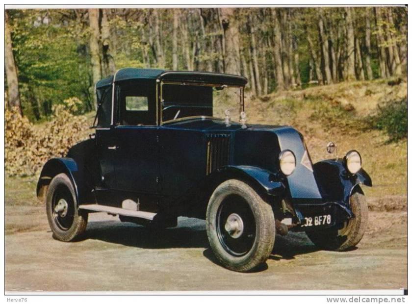 1926 Renault NN 6cv 951cm