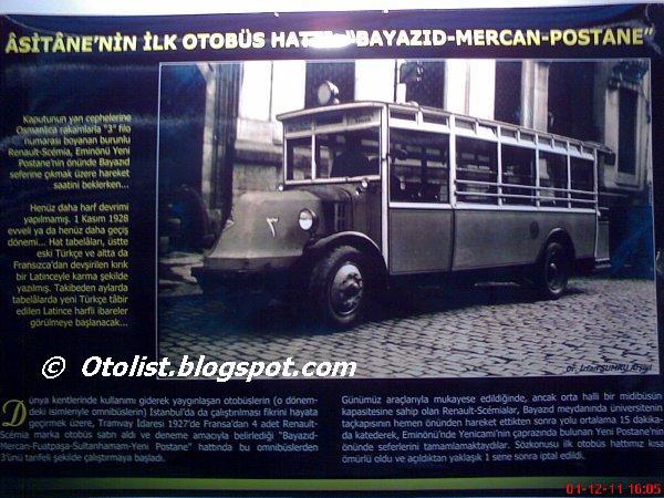 1926 Renault Scemia Turkije