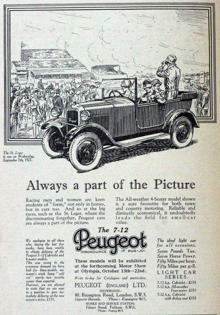 1927 Peugeot