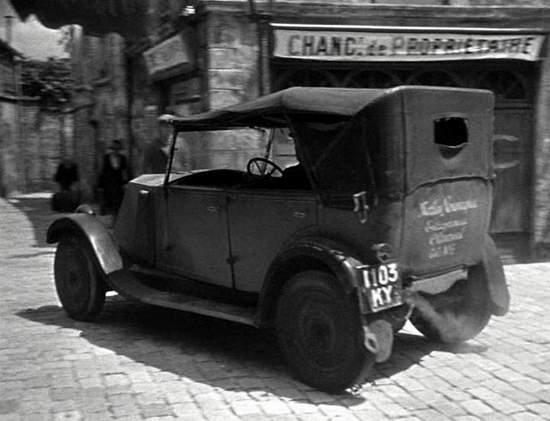 1927 Renault 6CV Torpédo [Type NN]