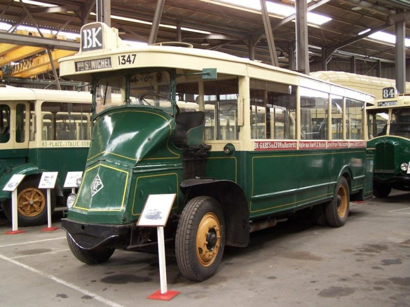1927 Renault PN Nr 1347 der RATP