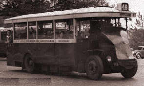 1927 Renault type PN Bus