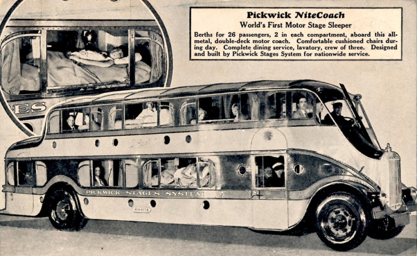 1928 Pickwick Nite Coach Bus