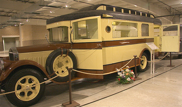 1928 Pierce Arrow Fleet Housecar a