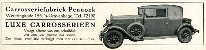 1929 pennock-1929-08