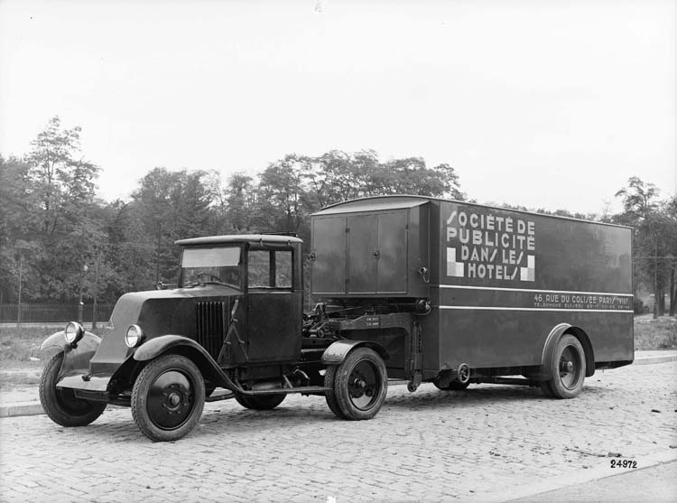 1929 Tracteur Renault type SY